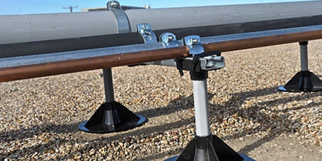 Pipe Prop Roof Top Pipe Support System