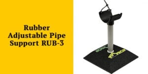 Rubber Adjustable Pipe Support (RUB-3) from Pipe Prop